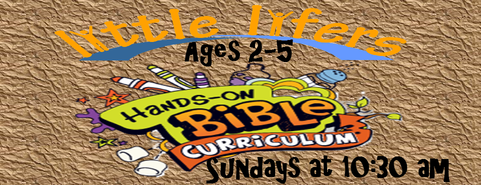 little Lifers hands on bible curriculum banner